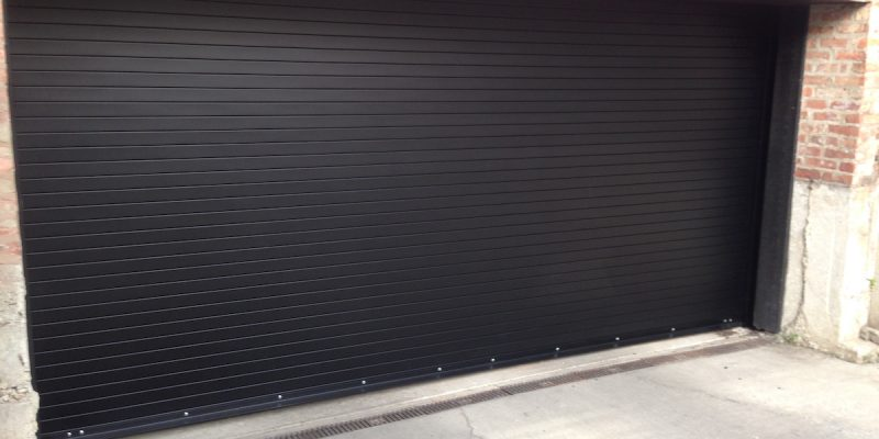 Black-Rolling-Steel-Door-Project-After-2