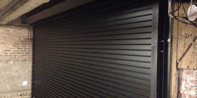 Black-Rolling-Steel-Door-Project-After-3