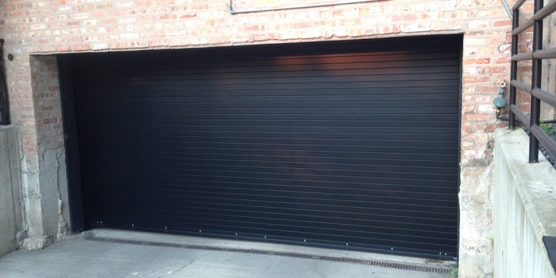 Black-Rolling-Steel-Door-Project-After