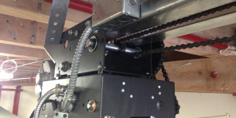Liftmaster-Commercial-Garage-Door-Operator-With-New-Conduit-1