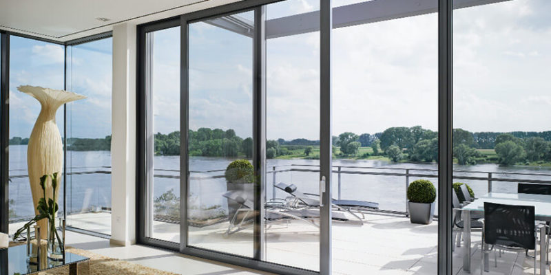 Black-aluminium-patio-door